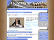 screenshot http://www.laurepeyrac-avocat.com avocat Maître PEYRAC