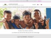 screenshot http://www.lavenirleursourit.org l'avenir leur sourit