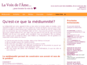 image du site http://www.lavoixdelame.ch