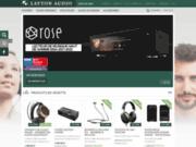 screenshot http://www.laytonaudio.ca Layton Audio