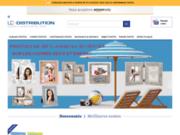 screenshot http://www.lc-distribution.com vente consommables numériques et arts graphiques :