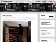 screenshot http://www.lcautomatisme.fr automatisme industriel 66