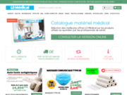 screenshot http://ld-medical.fr Matériel médical