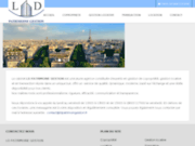 screenshot https://www.ldpatrimoinegestion.fr Gestionnaire de copropriété