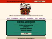 screenshot http://www.le-bijou.net le bijou salle de concert et bar restaurant indépendant à toulouse