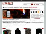 Le-briquet.com, vente de Zippo personnalisé en ligne