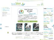 screenshot http://www.le-bureau-vert.com bureau d'étude thermique - le bureau vert