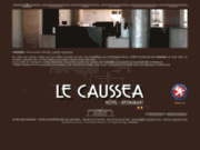 screenshot http://www.le-caussea.com/ Hôtel à Castres