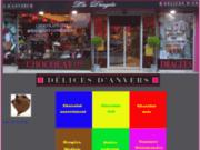 screenshot http://www.le-chocolat.fr boutique de vente en ligne de chocolat pour le pla