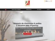 Le feu à l'âtre entreprise de chauffage à Sézanne dans la Marne