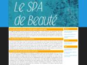 screenshot http://www.le-spa-de-beaute.com/ centre bien être au vaucluse