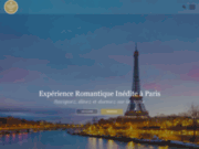 screenshot http://www.le-vip-paris.com le vip paris :  dîners croisières à paris