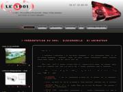 screenshot http://le3001.fr le 3001 discomobile