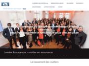 screenshot http://www.leader-assurances.eu courtier assurance auto yvelines