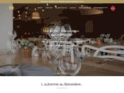 screenshot https://lebelvedere-lorient.fr/ Restaurant Le Belvédère, cuisine fancaise au centre ville de Lorient