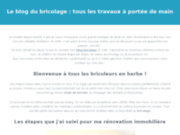Site officiel Le blog du bricolage