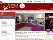 screenshot http://www.leboeufrouge.com/ Hôtel à St-junien