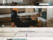 screenshot http://www.leboudoirdejeanne-77.com Le Boudoir de Jeanne