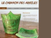 screenshot http://www.lecabanondesargiles.fr le cabanon des argiles