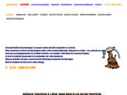 screenshot http://www.lechaudrongourmand.be/ service traiteur