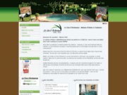 screenshot http://www.leclosdarduenna.com le clos d'arduenna, chambres d'hôtes à toulouse