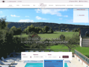 screenshot http://www.leclosdesfontaines.com hotel seine-maritime