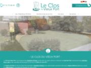 screenshot https://www.leclosduvieuxport.fr maison d'hôtes