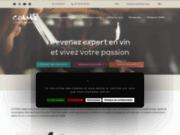 screenshot https://www.lecoam.eu Cours oenologie Paris