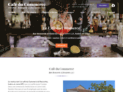 screenshot http://www.lecommercesandra.com/ Café du Commerce