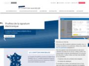 screenshot http://www.lecomptoirimmobilier.fr le comptoir immobilier - conseil en immobilier de placement
