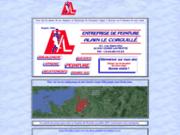 screenshot http://www.lecorguille.fr entreprise de peinture alain le corguillé
