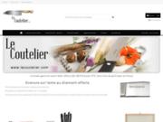 screenshot http://www.lecoutelier.com le coutelier, boutique en ligne : couteaux