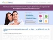 Faire une demande rapide de crédit avec Lecreditrapide.fr