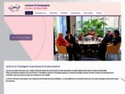 screenshot http://www.lecture-et-compagnie.ch/ association lecture et compagnie à neuchâtel