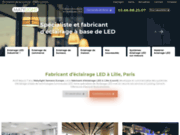 Fabricant d'éclairage LED industriel Lille, Paris