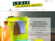 Ledif - fournisseur de produits d'entretien en Seine-et-Marne