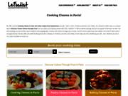 Cours de gastronomie française à Paris