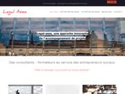 screenshot http://www.legal-asso.com/ gérer son association : agréments, gouvernance, structure, habilitations, assemblées générales…