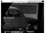 screenshot http://www.legaou.com le gaou restaurant belgique