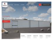 screenshot http://www.legoupil-industrie.com/ constructions modulaires
