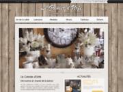 screenshot http://www.legrenierdurfe.fr Magasin déco maison à Boën
