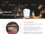 screenshot http://www.legrillon77.com/ restaurant traiteur à Melun 77