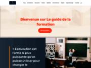 screenshot http://www.leguidedelaformation.com LeGuideDeLaFormation.com - Formation continue à Toulouse