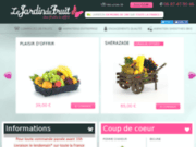 screenshot http://www.lejardindufruit.com Le jardin du fruit