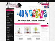 screenshot http://www.lejardindulevant.fr jdl bonsaï la boutique en ligne