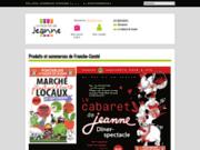 screenshot http://www.lemarchedejeanne.fr vente en ligne