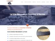 screenshot https://www.lemat-renovation.fr Couvreur nantais