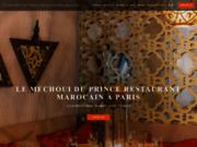 screenshot http://www.lemechouiduprince.com le méchoui du prince – restaurant marocain paris