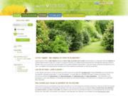 screenshot http://www.lemurvegetal.com le mur végétal : vente d'arbustes et végétaux