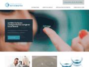 screenshot http://www.lentilles-pour-astigmates.fr le portail santé de l'astigmatisme